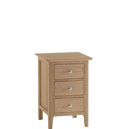 Newhaven Oak Medium Bedside Cabinet